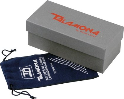 "TALAMONA Freehand Pfeife ""Texture"" mit Filter Acrylmundstück"