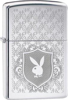 "Org.ZIPPO cr.pol.gelasert ""Playboy Logo"" 60004525"