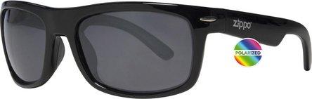 ZIPPO Sonnenbrille Kunststoff OB 33 schwarz  Polarized