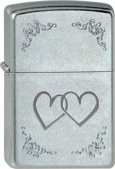 "Org.ZIPPO str.cr.""Heart to Heart"" 60001345"