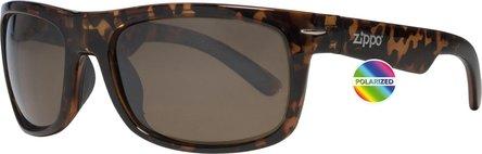ZIPPO Sonnenbrille Kunststoff OB 33 braun Polarized