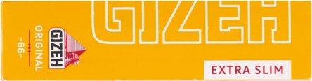 GIZEH Extra Slim Original (gelb) 66Bl. Zigtt-Pap. je50