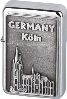"COOL Benziner chrom poliert/Plakette ""Köln"""