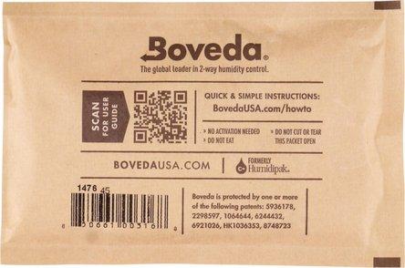 "Boveda Humidipak 2-way Humidifer groß ""69""  13.4 x 8.7 cm"