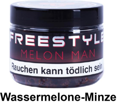 "WP-Tabak Freestyle ""Molon Man"" 150gr-Dose"