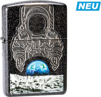 "Org.ZIPPO Galaxy Stardust Armor Case""Moon Landing""60004536"