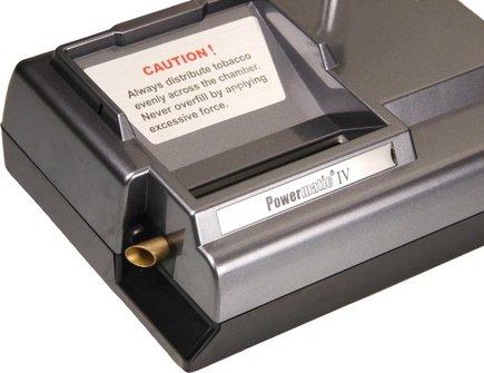 Powermatic IV elektr.Zigaretten-Stopfgerät m.Einfülltrichter
