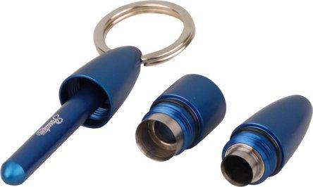 PASSATORE DUO XL Cigarrenrundcutter Alu blau 9+12mm
