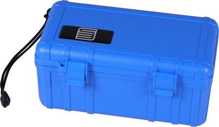 """Cigar Case """"S3"""" Acryl blau für ca.10-15 Cigarren"""
