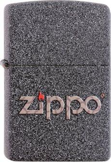 """Org.ZIPPO Iron Stone """"Snakeskin Zippo Logo"""" 60001357"""