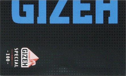 GIZEH BLACK Special blau 100 Zigtt.-Papier/Magnet (je20Hf.)
