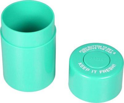 Vorratsdose f.Tabak aus Kunststoff, dichtschließend, sort.