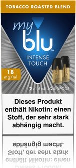 myblu Intense Podpack 1,5ml Tobacco 18mg/ml Nik. DE 2er Pack