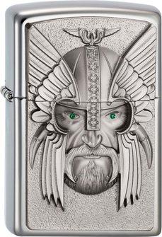 "Org.ZIPPO cr. pol. Plak. ""Green Eyed Viking"" 2003534"