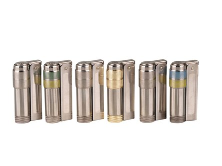 Windflame Benzinfeuerzeug chrom sortierte Dekore