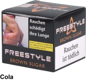 "WP-Tabak Freestyle ""Brown Sugar"" 150gr-Dose"