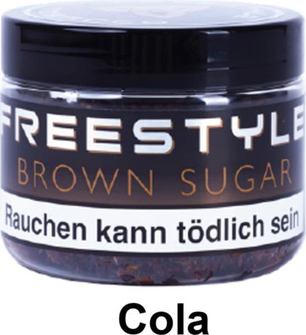 "WP-Tabak Freestyle ""Brown Sugar"" 150gr-Dose"