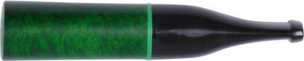 Zigarettenspitze Bruyère grün/Ring für 6mm Filter Acrylmund.