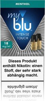myblu Intense Podpack 1,5ml Menthol 18mg/ml Nik. DE 2er Pack