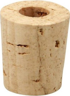 Korken für Schnupfflasche Porzellan groß
