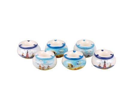 """Windascher Keramik  """"Meer"""" sortiert 11cm"""
