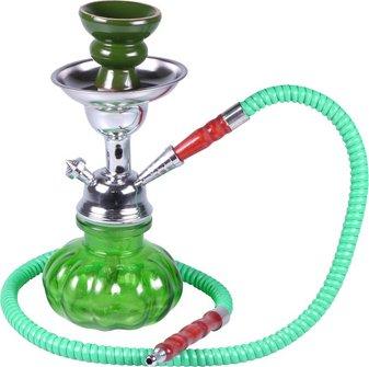"""Modern-Shisha Wasserpf.""""SINAI""""grün  25cm"""