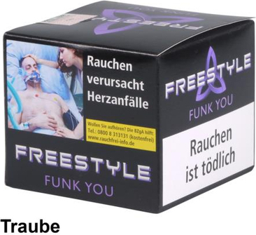 "WP-Tabak Freestyle ""Funk you"" 150gr-Dose"