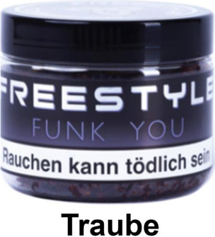 """WP-Tabak Freestyle """"Funk you"""" 150gr-Dose"""
