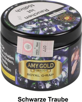 "WP-Tabak Amy Gold ""Royal G-Rap"" in Dose 200g"
