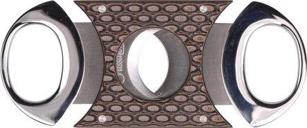 Passatore Cig.-Abschneider chr.pol./Schlangendesign 22mm