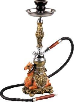 """Modern Shisha Wasserpfeife """"Kamel"""" 42cm"""