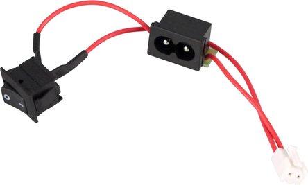 Bauteil An-/Aus-Schalter für Powermatic II  # 016080