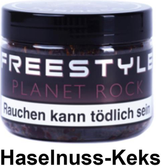 "WP-Tabak Freestyle ""Planet Rock"" 150gr-Dose"