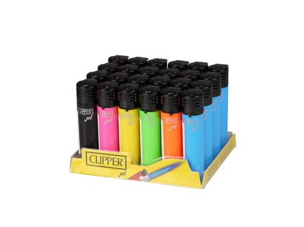 Clipper Jet Feuerzeug farbig sortiert