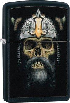 "Org.ZIPPO schwarz color ""Skull/Helmet"" 60004556"