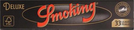 SMOKING KINGSIZE DE LUXE Slim Extra Fine Zigtt.-Pap.je50