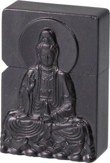 """Benziner mit Holzgehäuse """"Buddha"""""""