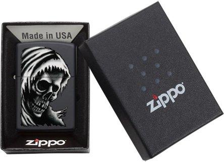 "Org.ZIPPO schwarz color ""Ghost Design"" 60004557"