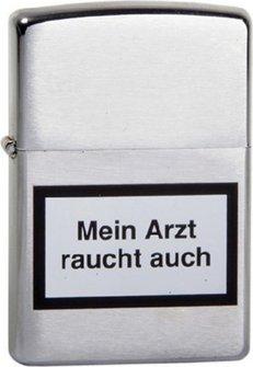 """Org.ZIPPO cr.""""Mein Arzt raucht..""""1200205"""