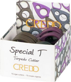 "CREDO Cig.-Abschneider ""Special T"" Kunststoff sortiert"