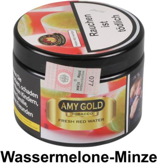 """WP-Tabak Amy Gold """"Fresh Red Water"""" in Dose 200g"""