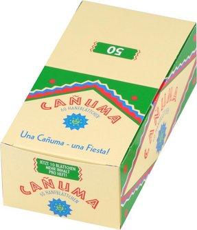 CANUMA 60 Zigarettenpapier je 50 Heftchen