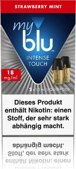 myblu Intense Podp.1,5ml Strawberry Mint 18mg/ml Nik. DE 2er
