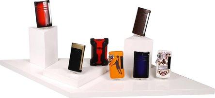 DUPONT Displaysteller für Dupont Feuerzeuge + Cutter