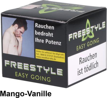 "WP-Tabak Freestyle ""Easy Going"" 150gr-Dose"