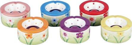 """Windascher Keramik  """"Blumen"""" sortiert 12cm"""