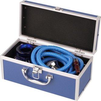 """Modern-Shisha Wasserpf.""""BABI"""" blau 26cm 2er"""