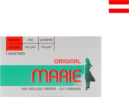 MARIE ORIGINAL 100 Zigtt.-Papier Doppelbüch. je50