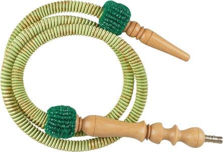 Schlauch für Ägypt. Wasserpf. grün 160cm