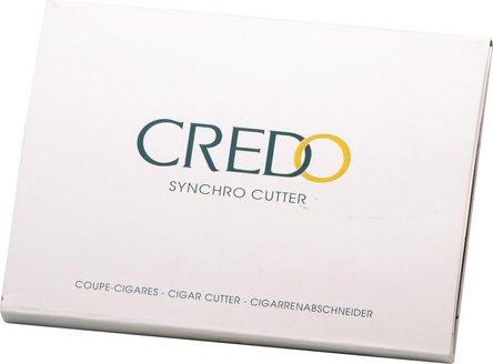 CREDO Synchro Abschneider Edelstahl schwarz 22.5mm Schnitt